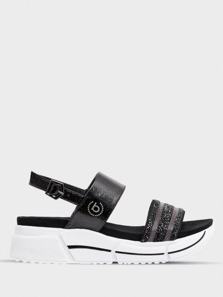 Повседневные текстильные сандалии на каблуке Bugatti