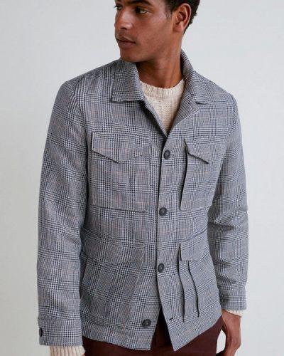 Куртка легкая серая Mango Man