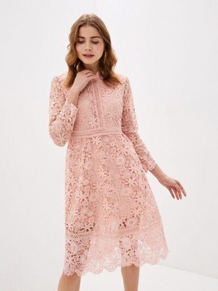 Вечернее платье - розовое Liana