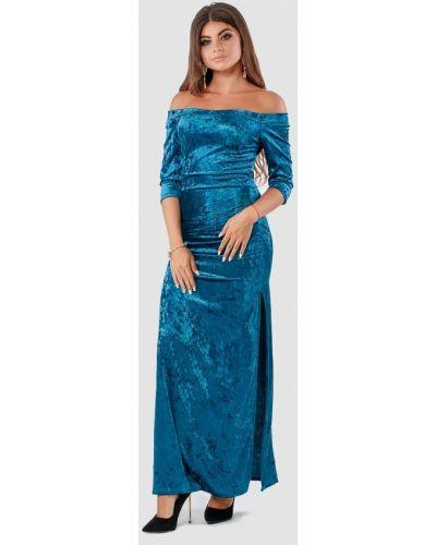 Бирюзовое вечернее платье Margo