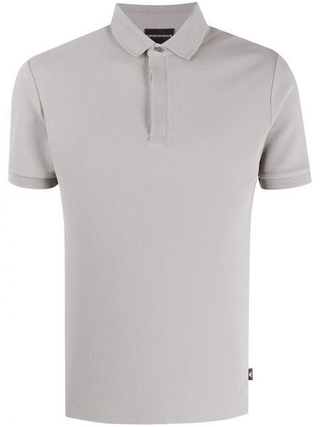 Koszula krótkie z krótkim rękawem klasyczna prosto Emporio Armani