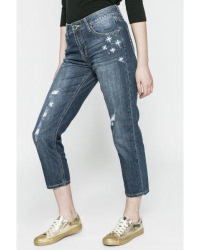 Прямые джинсы с эффектом потертости Desigual