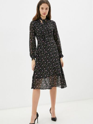 Прямое платье - черное Imocean