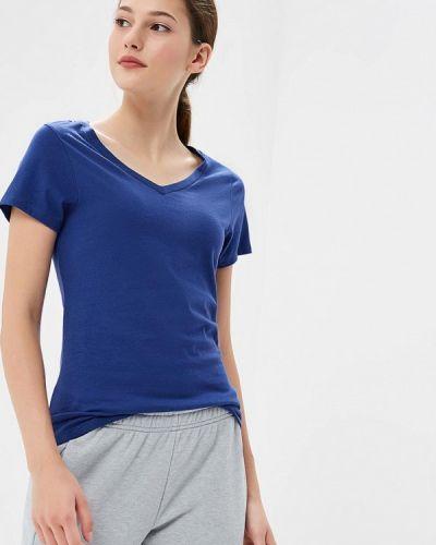 Синяя футболка Asics