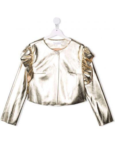 Złota bluzka Monnalisa