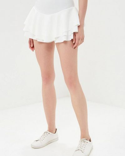 Юбка юбка-шорты белая Edge Street