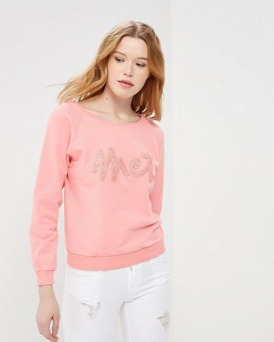 Розовая толстовка Met