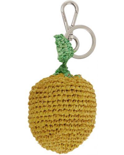 Brelok żółty zielony Jacquemus