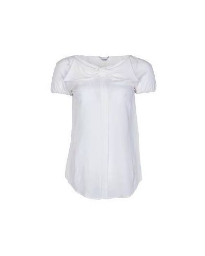Белая блузка Moschino
