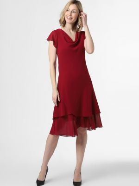 Czerwona sukienka wieczorowa Ambiance