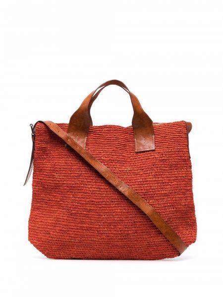 Pomarańczowa torba na ramię Ibeliv
