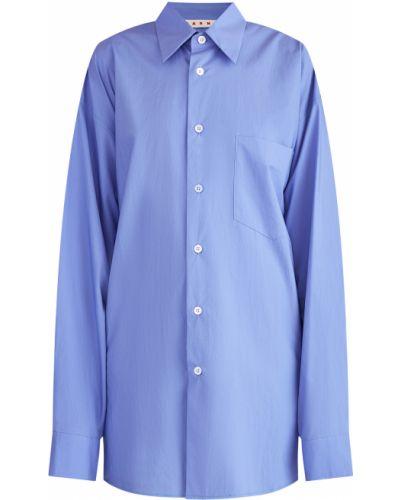 Блузка классическая на пуговицах Marni