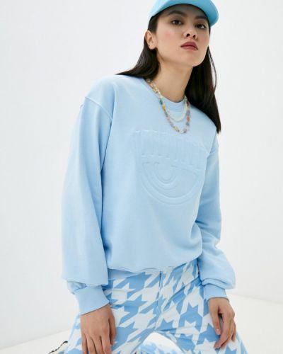 Голубая свитшот Chiara Ferragni Collection