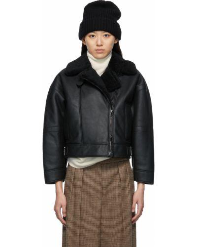 Черная куртка на пуговицах Max Mara
