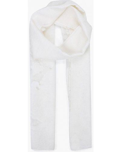 Белый палантин Venera