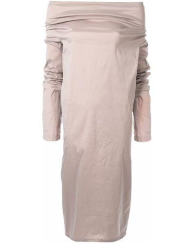 Платье розовое с длинными рукавами Zambesi