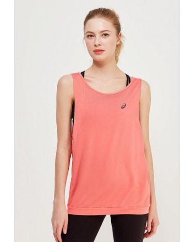 Розовая майка спортивная Asics