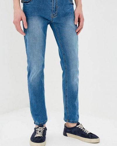 Синие зауженные джинсы-скинни Hopenlife