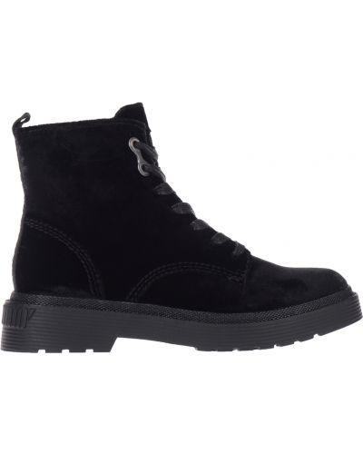 Кожаные ботинки - черные Calvin Klein Jeans