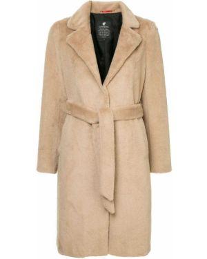 Расклешенная длинное пальто с поясом Loveless