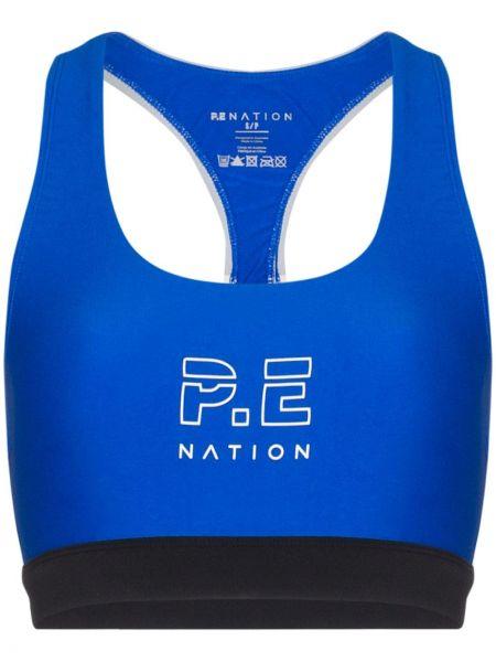 Biustonosz niebieski P.e Nation