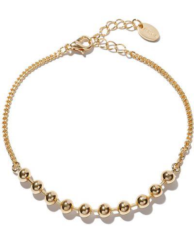 Золотой браслет позолоченный золотой Exclaim