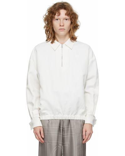 Белая хлопковая куртка Toteme