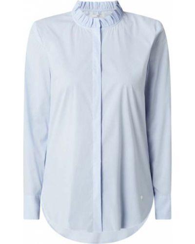 Niebieska bluzka ze stójką Brax