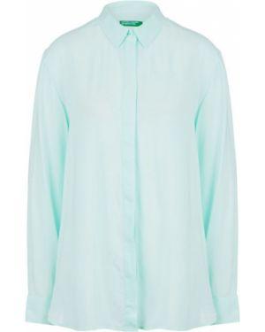 Рубашка из вискозы приталенная United Colors Of Benetton