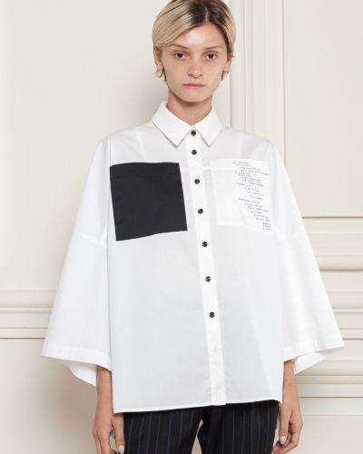Рубашка оверсайз - белая Dolcedonna