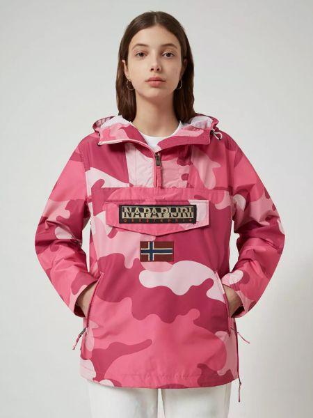 Повседневная куртка - розовая Napapijri
