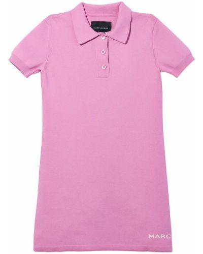 Платье рубашка - розовое Marc Jacobs
