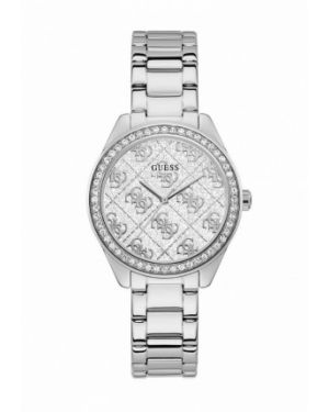 Серебряные часы Guess