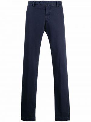 Niebieskie spodnie bawełniane Borrelli