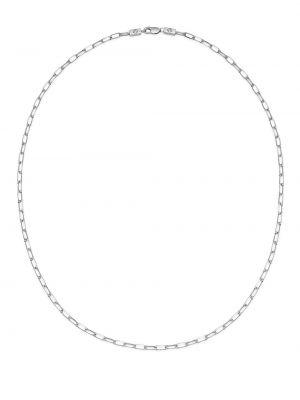Naszyjnik łańcuch srebrny Northskull