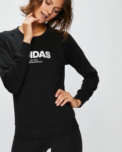 Черная кофта с капюшоном Adidas Performance