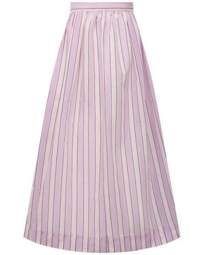 Шелковая юбка - розовая Tela