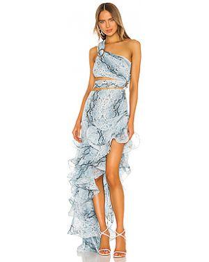 Вечернее платье длинное с вырезом Bronx And Banco