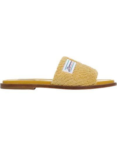 Żółte sandały Zimmermann