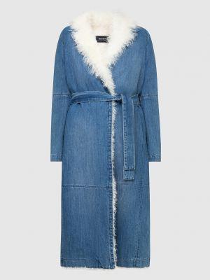 Синее пальто Simonetta Ravizza