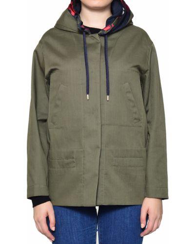 Куртка осенняя зеленая Moorer
