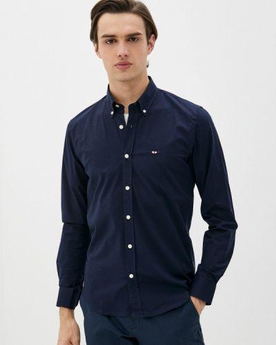 Синяя рубашка с длинными рукавами Galvanni