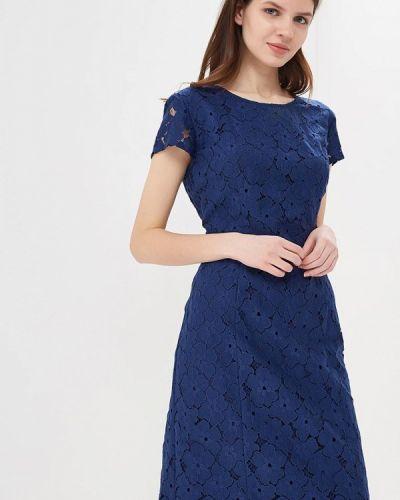 Синее платье весеннее Betty Barclay