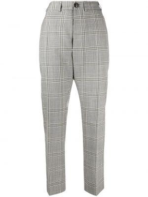 Шерстяные серые брюки с карманами Vivienne Westwood