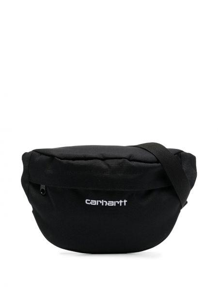Черная поясная сумка на молнии с карманами Carhartt Wip