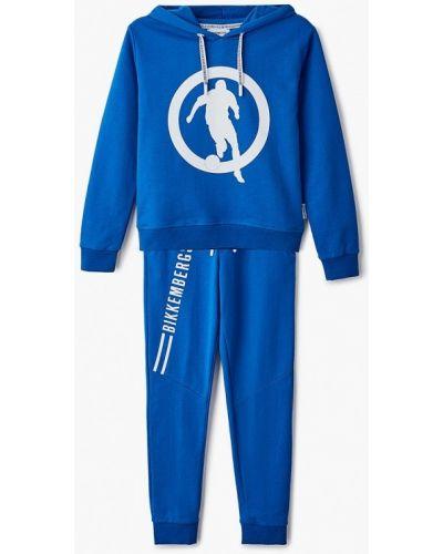 Костюмный синий спортивный костюм Bikkembergs
