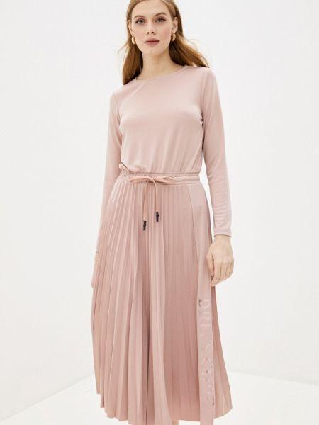 Платье прямое розовое Imperial