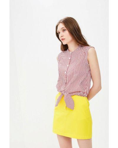 Красная блузка без рукавов Fornarina