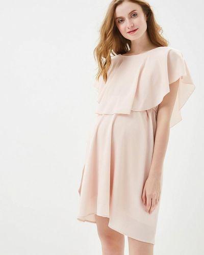Розовое платье для беременных Mama.licious