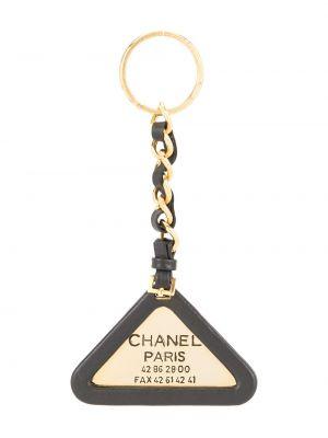 Брелок на цепочке с логотипом Chanel Pre-owned